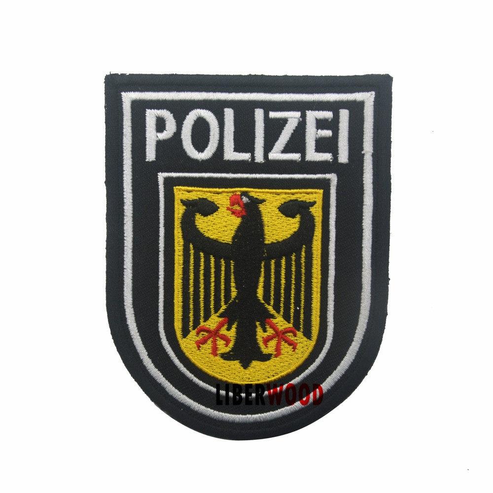 Embroidery Patches FBI FEDERAL BUREAU INVESTIGATION LOS ANGELES SWAT TEAM  POLICE Morale Patch Tactical Appliques Emblem Badge