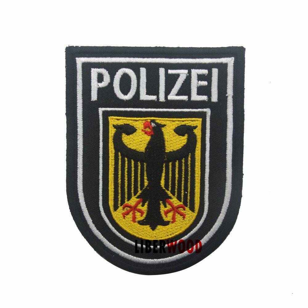 Bandera de Polonia Polaco Emblema nacional Parche Bordado de Aplicaci/ón con Plancha