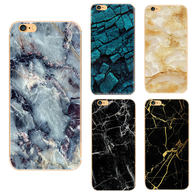 sports shoes b2eb5 0ba7e US $1.82 |HD Marble Cases for Phones Silicone Back mobile phone Cover Case  Soft TPU Protector Suitable For iPhone 6 6 plus Anti resistant on ...