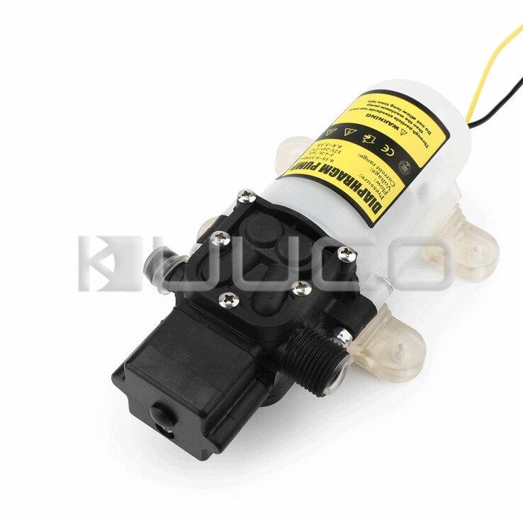 Pompe à diaphragme 60W DC 12V 5A pompe auto-amorçante Micro diaphragme électrique commutateur automatique pompe à eau haute pression - 2