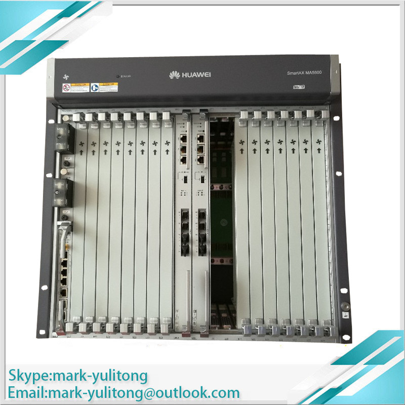 Hua Wei Olt Smartax Ma5800-x7 Included 2*pila And 2*mpla And 2*16 Ports Boards Gphf With 16 C Communication Equipments Cellphones & Telecommunications Sfp Sophisticated Technologies