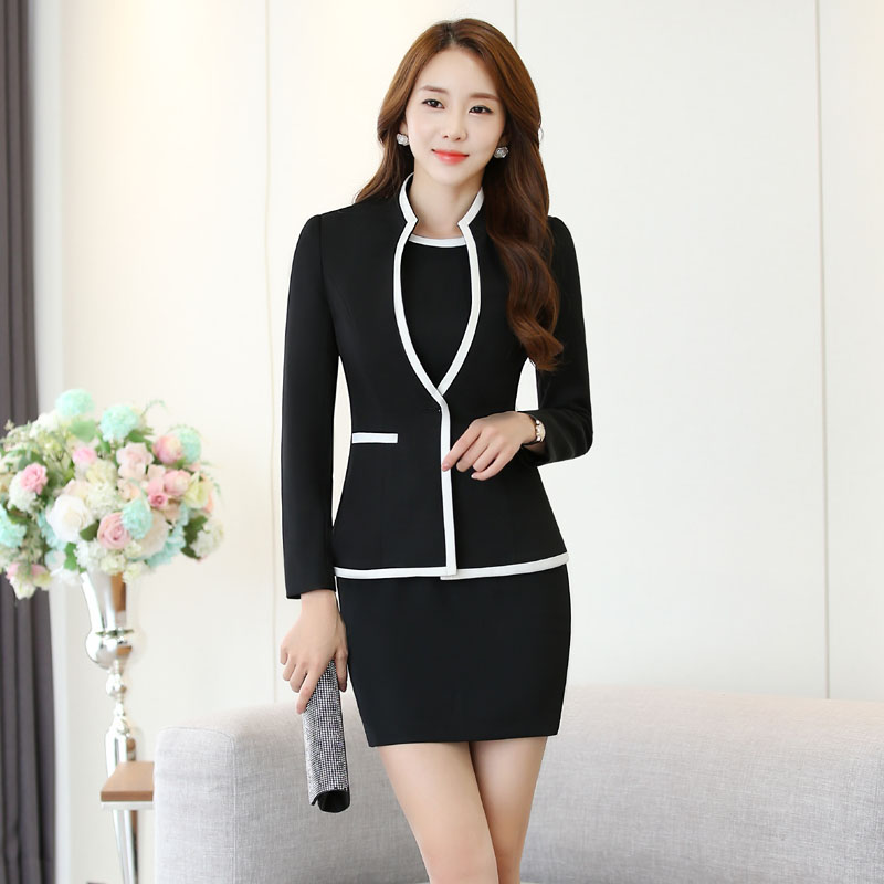 Online Get Cheap Women Business Dress Jacket Suits for Office ...