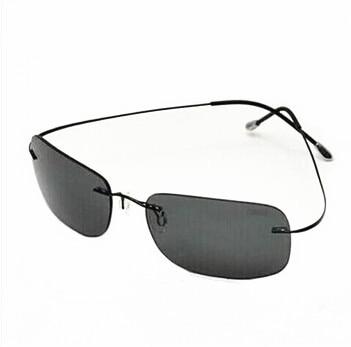 Rimless Titanium Ultra Silhouette Light Sunglasses Women Polarized yYfg76b