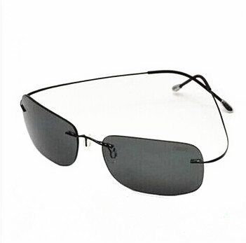 39ec796e47c Silhouette Sunglasses Titanium Rimless ultra-light Polarized Women Men Sun  Glasses Summer Style Free Shipping