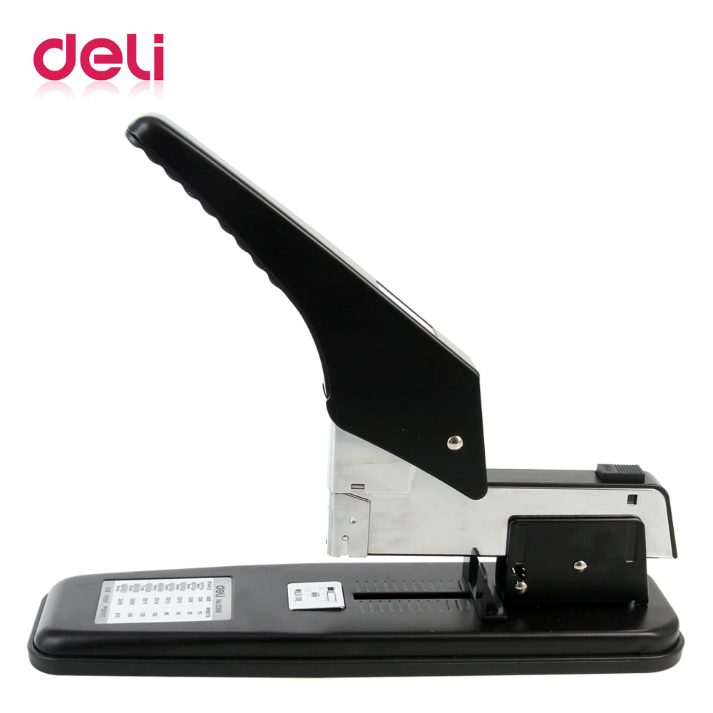 Deli 1pcs large stapler heavy duty thickening and long effort Office stationery thick layer 210 sheets Binding 0399