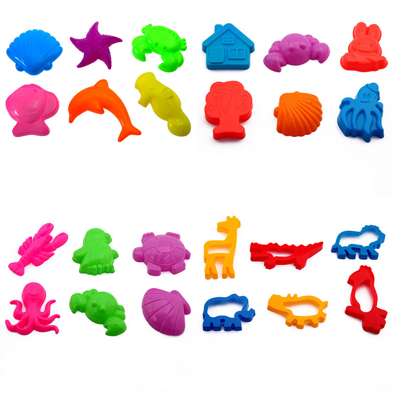 Play Dough Tool Playdough Polymer Clay Plasticine Mold Slime Tools Set Kit For Kids Gift Clay Plasticine Mold Slime Accessories