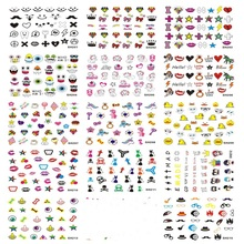 Environmental Protection Manicure Self-adhesive Stickers 3D Small Suihua Nail Sticker Lovely Design SH Series