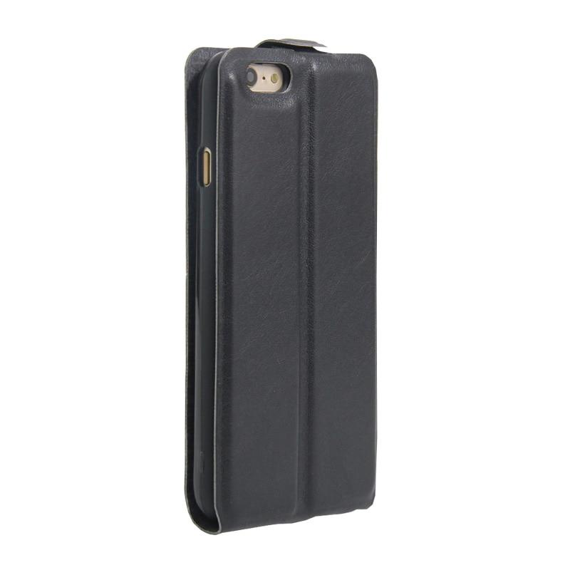 fa4743b150 Para o iphone 7 Caso Do Vintage PU de Couro Do Caso Da Aleta para o iphone  8 Além de Luxo Estojo De Couro Vertical Flip Magnético para o iphone ...