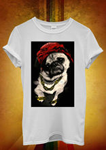 Pug Life Dog Puppy Funny Men Women Unisex T Shirt  Top Vest 354 New Shirts Tops Tee