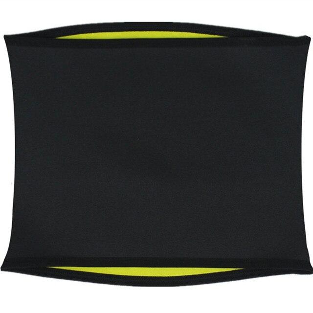 Men Body Shapers Belt Modeling Strap Neoprene Sweat Sauna Waist Trainer Corset Belly Elasticity Regulate Stomach Slim Belts 3