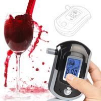 Professional Digital Breath LCD Police Alcohol Analyzer Tester Breathalyzer Test Detector Alcohol Tester
