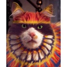 Алмазная картина yikee с кошками Настенный декор квадратные