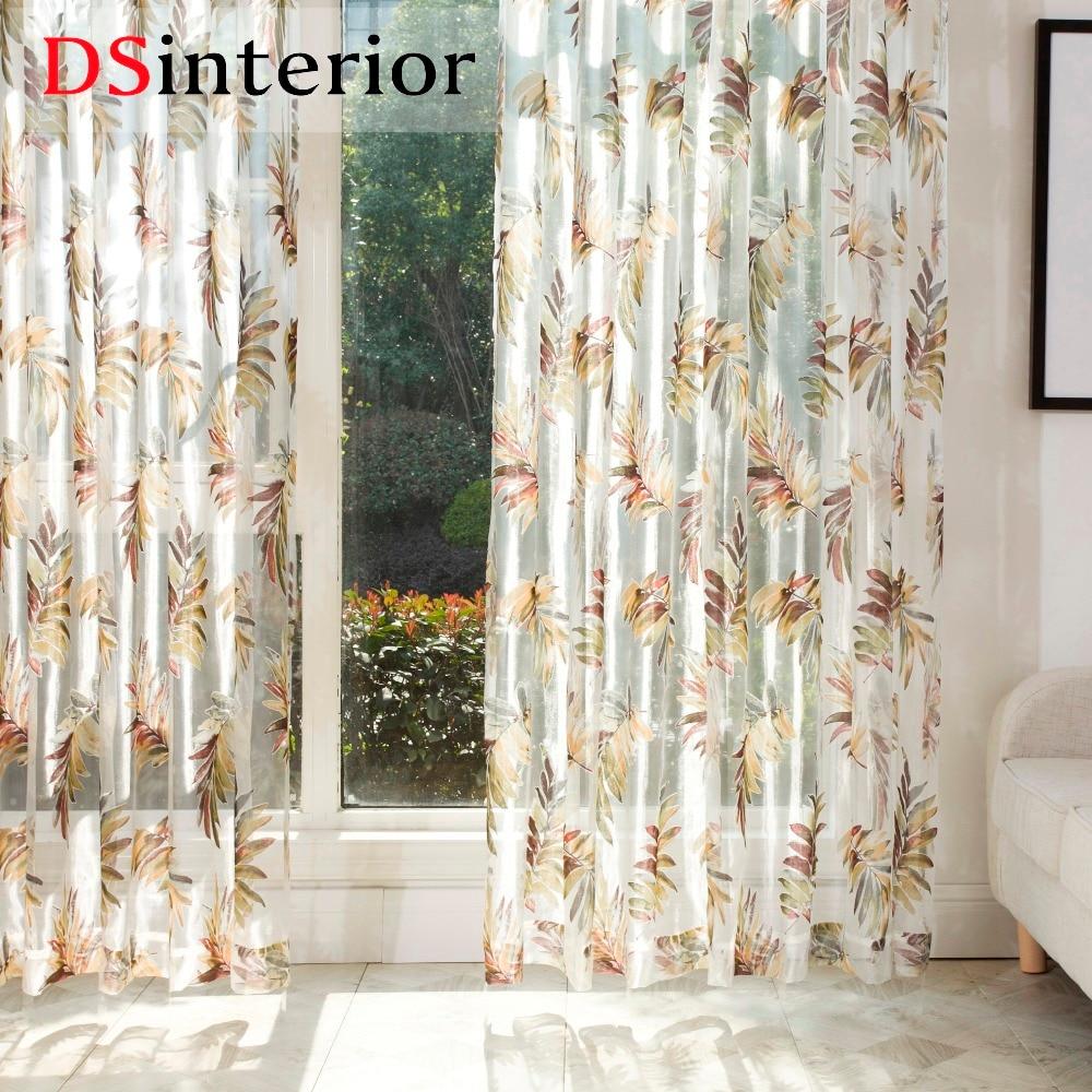 Sheer Curtains For Living Room Popular Burnout Sheer Curtains Buy Cheap Burnout Sheer Curtains