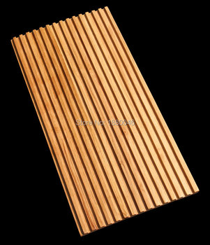 Hohe Qualität Gummi Holz Mosaik Fliesen Innovative Baustoffe Innenwand  Dekorative Holzwand Panel