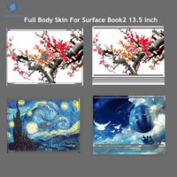 Full Body Skin For Microsoft Surface Book 2 13 5 Inch Tablets Laptop Diy Design Colorfull