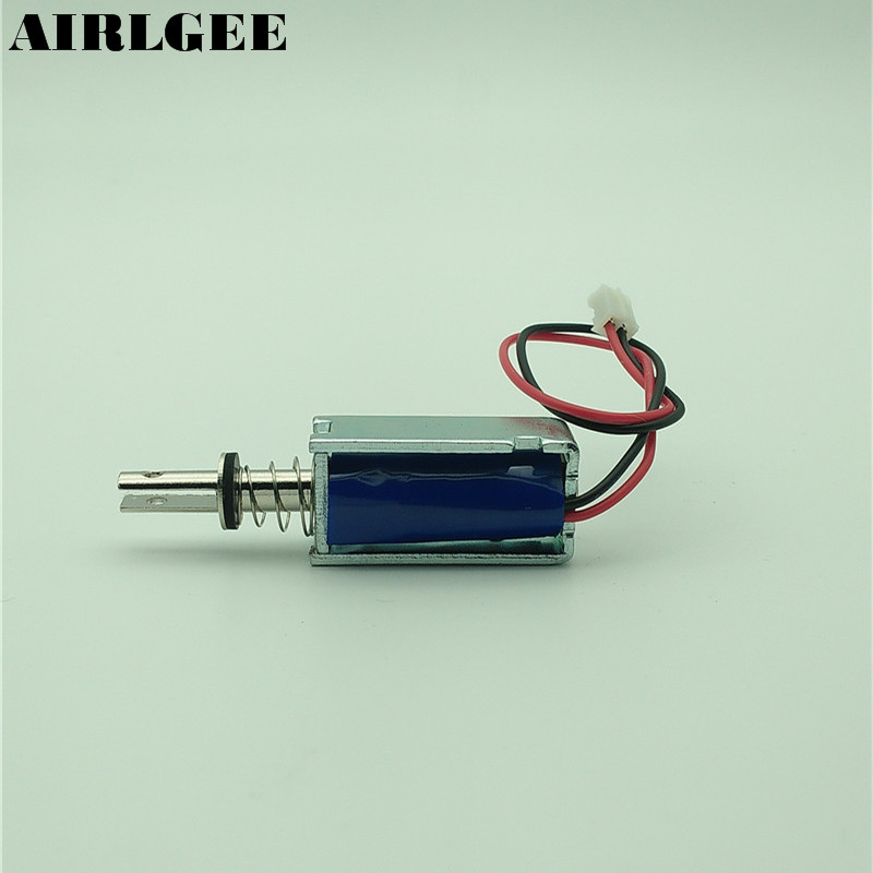 все цены на High quality DC 5V 2mm/120g 5mm/25g Open Frame Linear Actuator Electromagnet Solenoid Free shipping