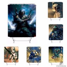Custom Star Wars Waterproof Shower Curtain Home Bath Bathroom S Hooks Polyester Fabric Multi Sizes