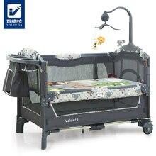 Valdera multifonctionnel pliant bébé lit de mode portable jeu lit bb lit bébé bande moustiquaire