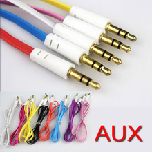 10 piece New Car Aux Cable 3.5mm to 3.5mm Jack Audio Cable Male to Male, Cable length 1 meter ( 3.28ft )