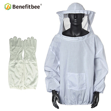Benefitbee Apicultura Bee Suit Clothes Jacket For Beekeeper Protective Beekeeping Uniforms Suit Beekeeping Equipment new protective pants veil bee protecting dress camouflage beekeeping suit beekeeper bee suit smock