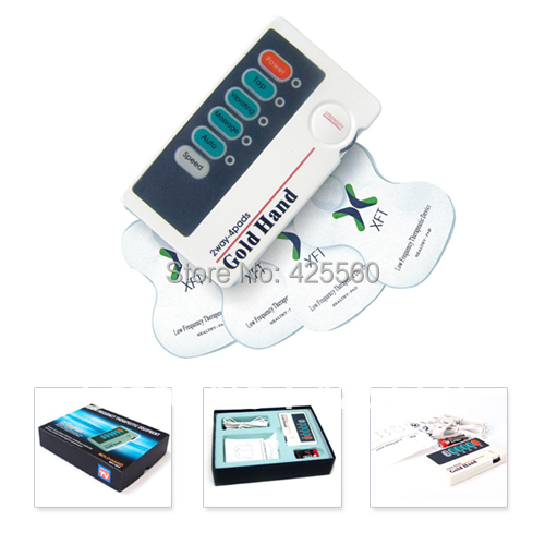 2 Pieces XFT-502 Machines Low-frequency 2 Channels Stimulator With Electrodes Pads
