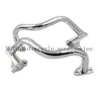 CNC Motorcycle Crash Bars Engine Guard Rail Fence Bumper Front Side Protector For Honda CB400 CB