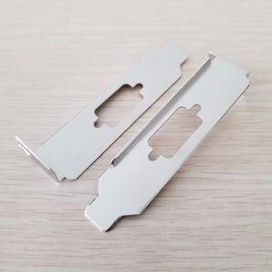 Image 1 - 100 Cái/lốc DB9 9Pin Vách Ngăn Nối Tiếp Cổng Duy Nhất Thanh Khung Xe Cổng COM PCI Khối RS232 Thẻ Nhớ Mở Rộng