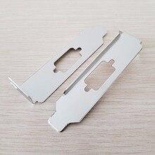 100 pçs/lote db9 9pin defletor serial único porta barra chassi com porta pci bloco rs232 placa de expansão