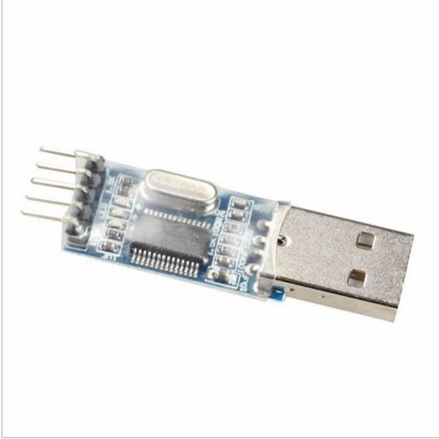 1pcs/lot PL2303 USB To RS232 TTL Converter Adapter Module with Dust-proof Cover PL2303HX
