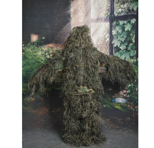 2017New Forest Design jungle camouflage Ghillie costume type d'herbe - Sportswear et accessoires - Photo 2