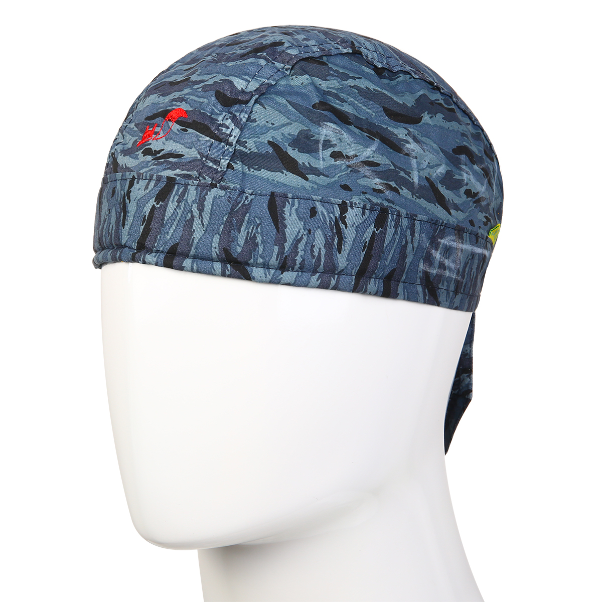 1pc Welder Welding Protective Hat Cap Scarf Welder Flame Retardant Cotton Safety Helmet With Elastic Straps Mayitr