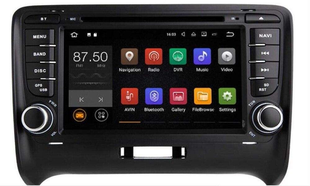 4G LTE lecteur multimédia de voiture 2 Din Android 8.1 DVD Automotivo pour AUDI TT MK2 2012-2014 GPS AutoRadio Audio Wifi Navigation 4G