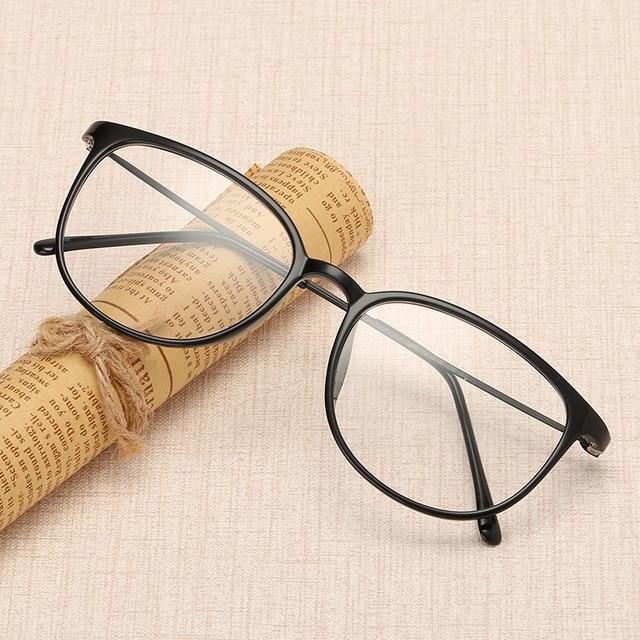 d9536168b7e TR90 Super Light Elegant Women And Men s Glasses Frames Casual Clear Fashion  Eyeglasses Frame Myopia Prescription Optical Frames
