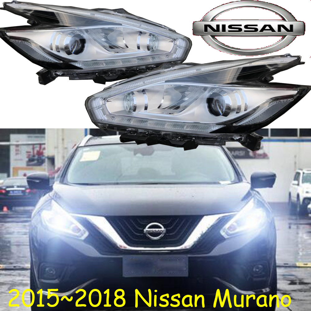 Murano headlight,2015~2018,Free ship! Murano fog light,Micra,Murano head light,Skyline,Titan,Urvan,Rogue,Xterra,Murano headlamp