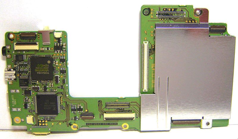 Camera Repair Replacement Parts for EOS 7D motherboard for Canon