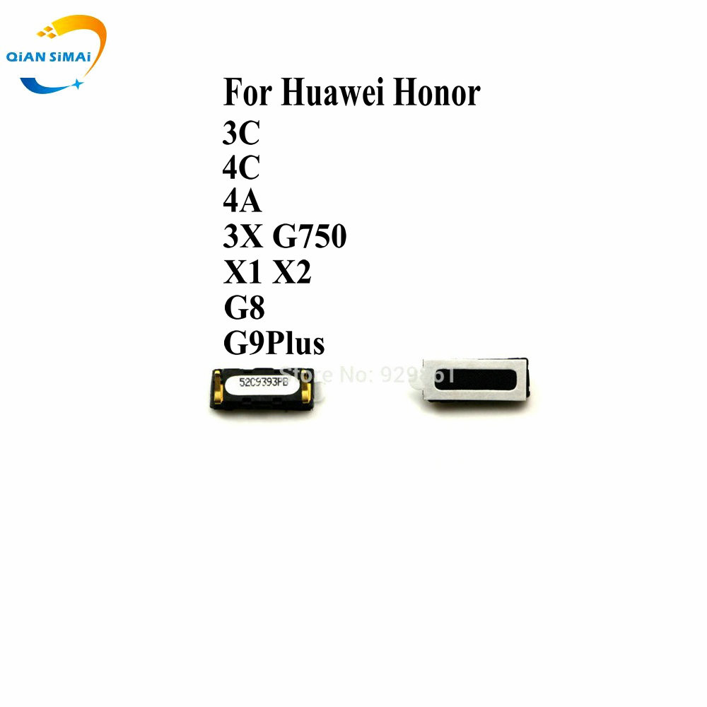 1PCS  Ear Earpiece Speaker For Huawei Honor 3C 4C 4A 3X G750 X1 X2 G8 G7plus 4 5 G9Plus Mobile Phone