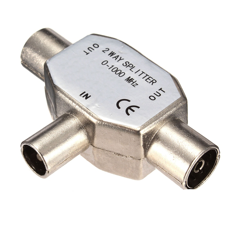 samsung tv antenna adapter. aliexpress.com : buy 2 way metal coaxial signal tv aerial splitter pal antenna adapter connector 1 male to female coax television accessories from samsung tv