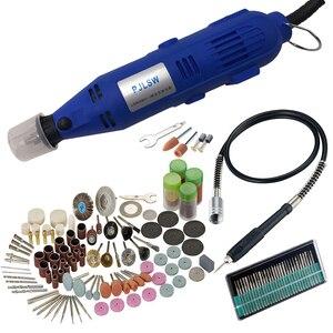 Image 1 - 180w 6 hız kontrolü hızlı mikro mini elektrikli değirmeni takım elbise küçük yeşim oyma makinesi parlatma makinesi taşlama makinesi