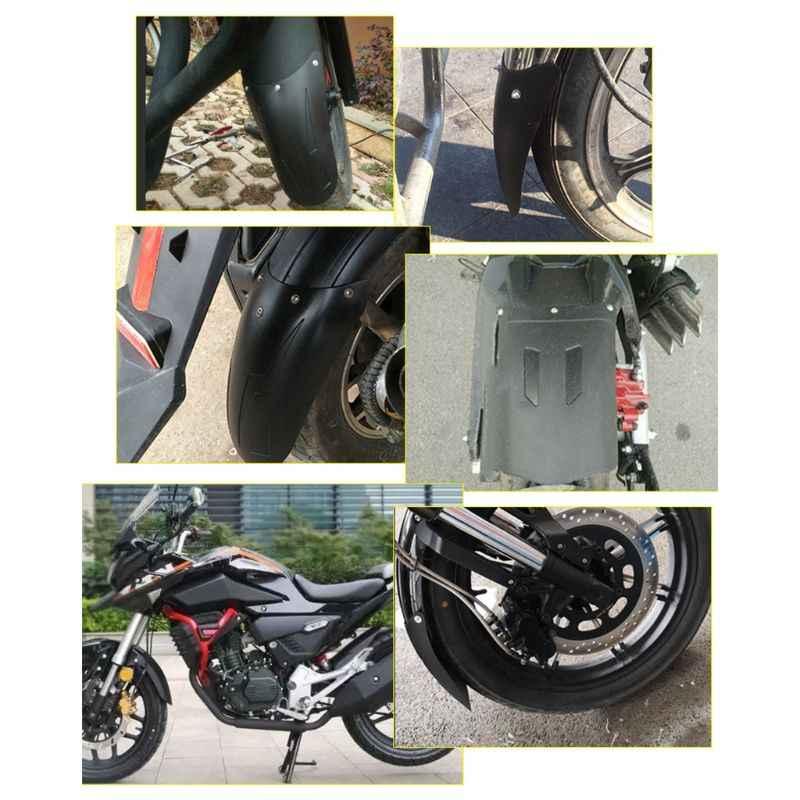 Motosiklet ön arka tekerlek çamurluk çamurluk sıçrama uzatma Pad evrensel Triumph Honda Chopper Suzuki aksesuarları
