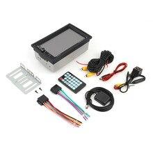 7 pulgadas Universal Bluetooth Car Audio Estéreo Reproductor MP5 con la Cámara de Vista Trasera Pantalla Táctil de Navegación GPS FM Función USB/la tarjeta DEL TF