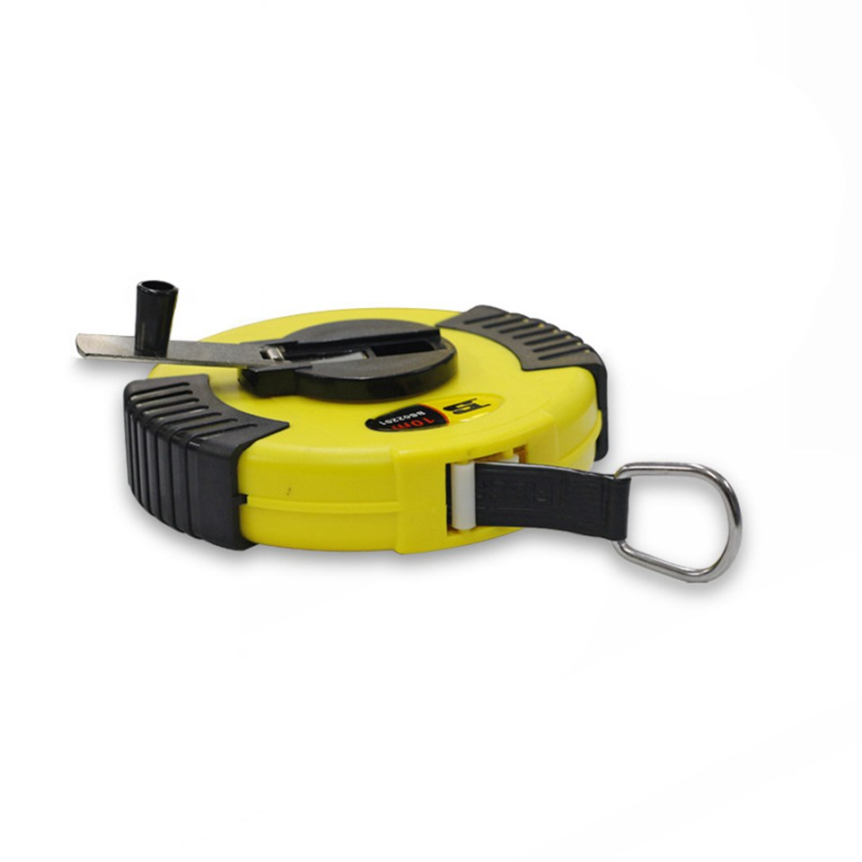 100cm Magnetic Measuring Tape Magnet Ruler In Yellow MO 203