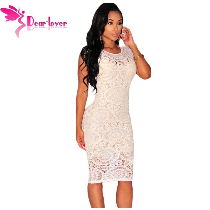 Vestidos Mujer Off White Optical Net Nude Illusion -6181