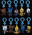 10 unids/set 7 cm Cinco Noches En Llavero PVC Figuras de Juguete de Freddy FNAF Chica Bonnie Foxy Fazbear Oso Muñeca Figura de acción de colgante