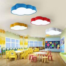 Modern Cloud Design Ceiling Lamp Children Room Kindergarten Amusement Park Kids Plafonnier Lights Aisle Veranda De Techo Lustre