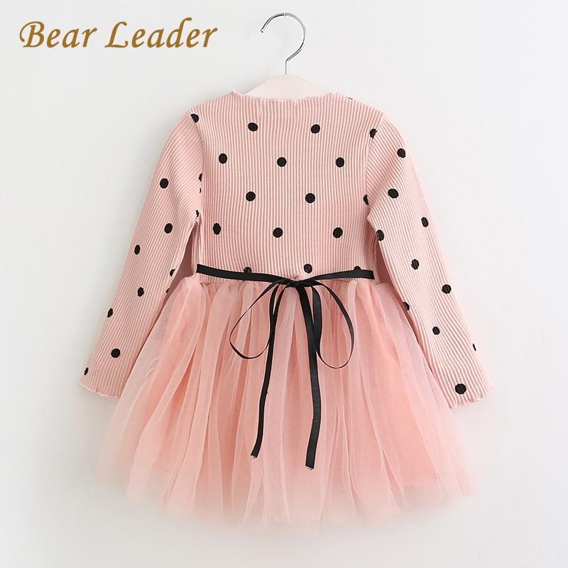 HTB1CmZyOVXXXXX.apXXq6xXFXXXr - Bear Leader Girls Dress Princess Dress 2017 Brand Girls Dress Children Clothing Ball Gown Dot Print Kids Clothes Girls Dresses