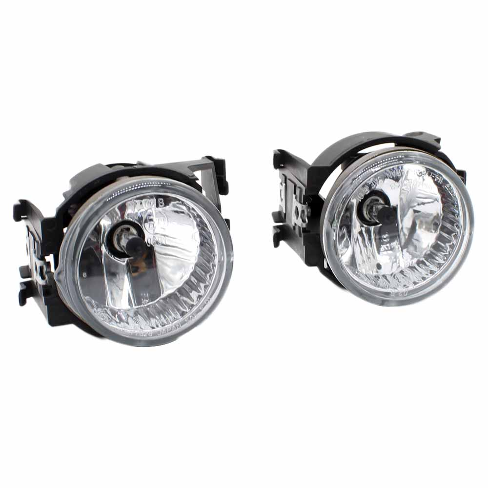 2pcs Car Styling Round Front Bumper Fog Lights DRL Daytime Running Driving fog lamp For Subaru Outback 2010 2011 2012 with Bulbs 2pcs car styling round front bumper led fog lights high brightness drl day driving bulb fog lamps for toyota ractis scp10