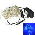 Jiawen 10M 100-LED 3.5 W bule Light Christmas Decorative Lamp Light String ( AC110-240V/ EU Plug)