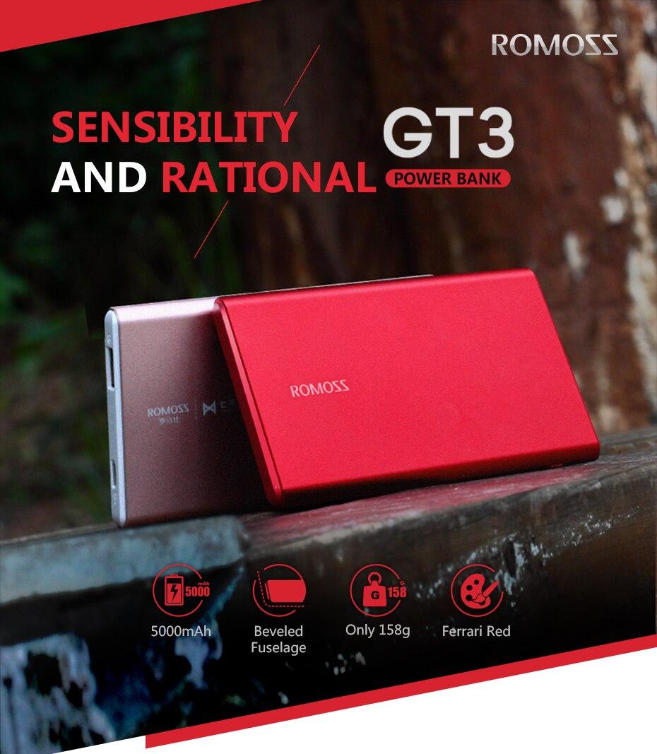 Romoss GT3 Power Bank 1