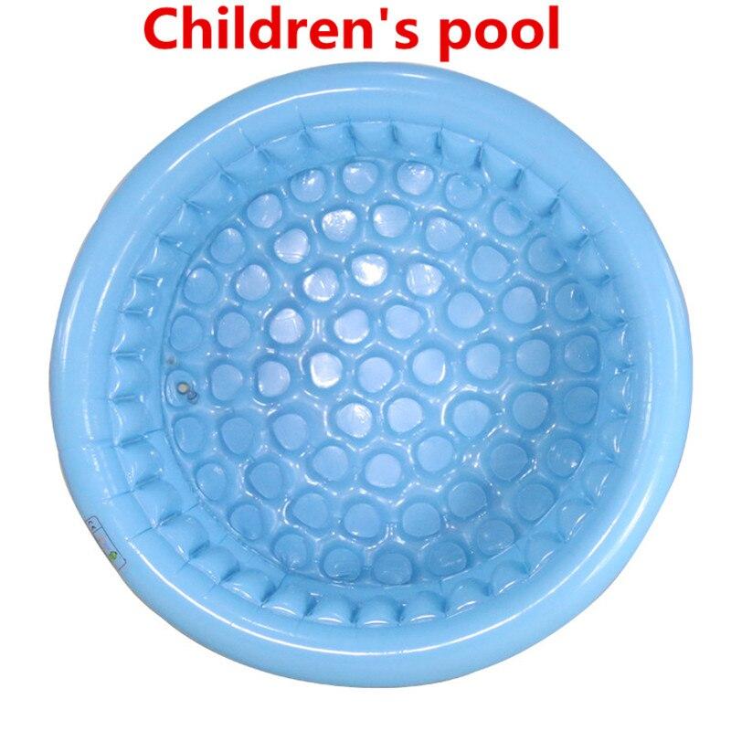 2018 130 cm de haute qualité trois anneau PVC enfants piscine gonflable bébé piscine piscine de pêche piscine piscine de boule marine