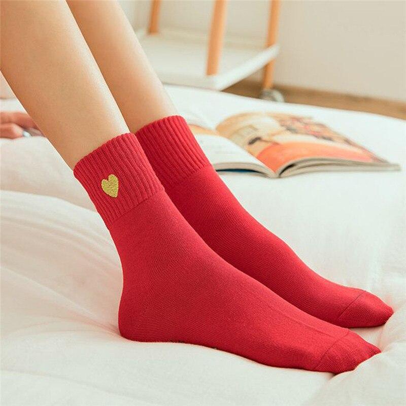 Christmas Socks,Women Warm Red Cotton Socks Christmas Xmas Gift